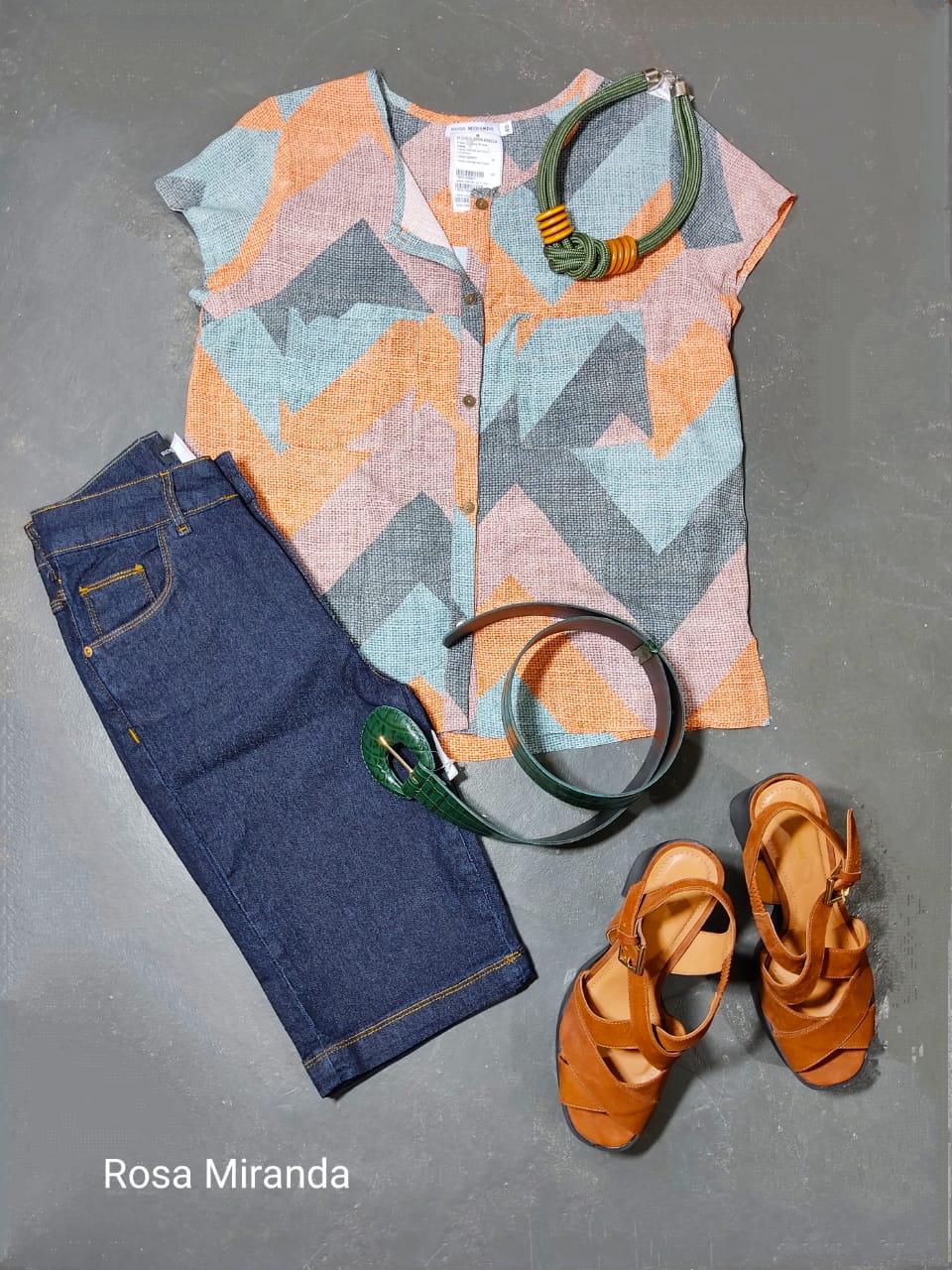 Camisa Visco bolsos