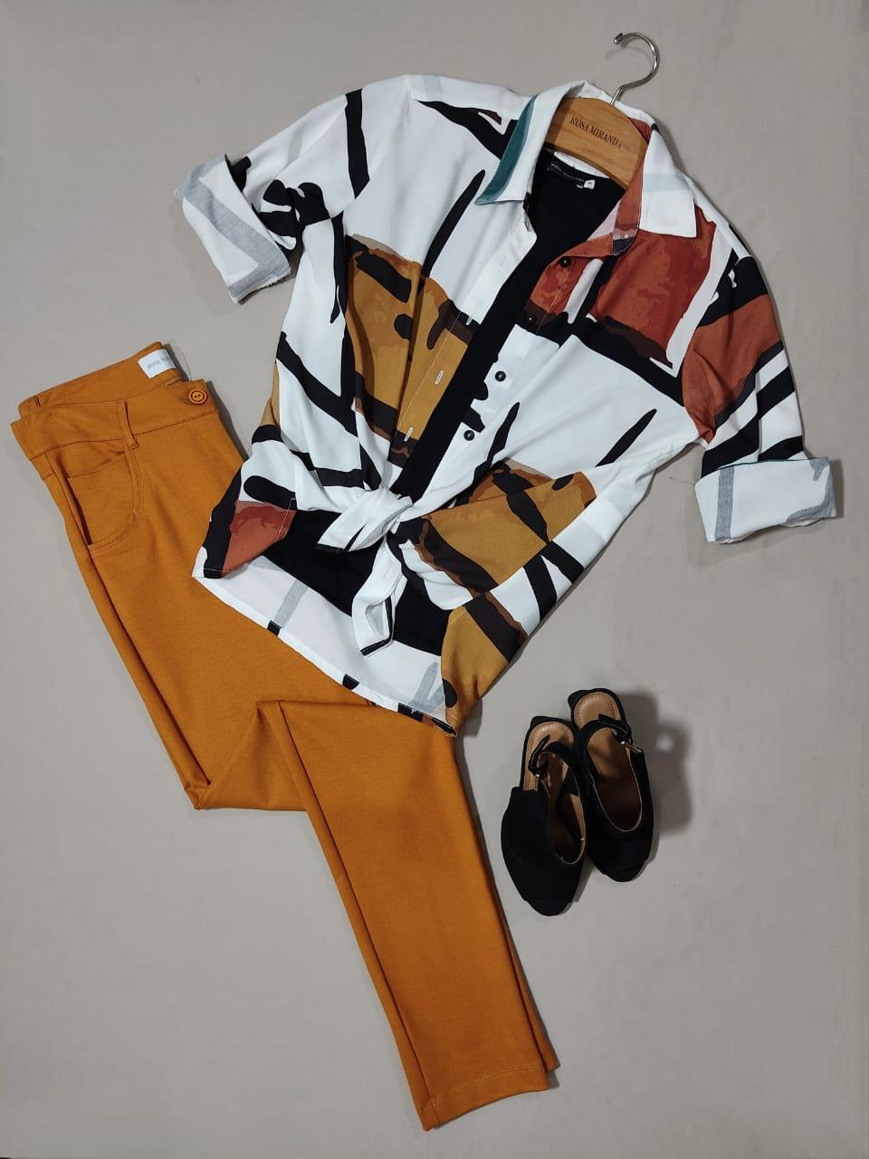 Camisa Viscose Siena