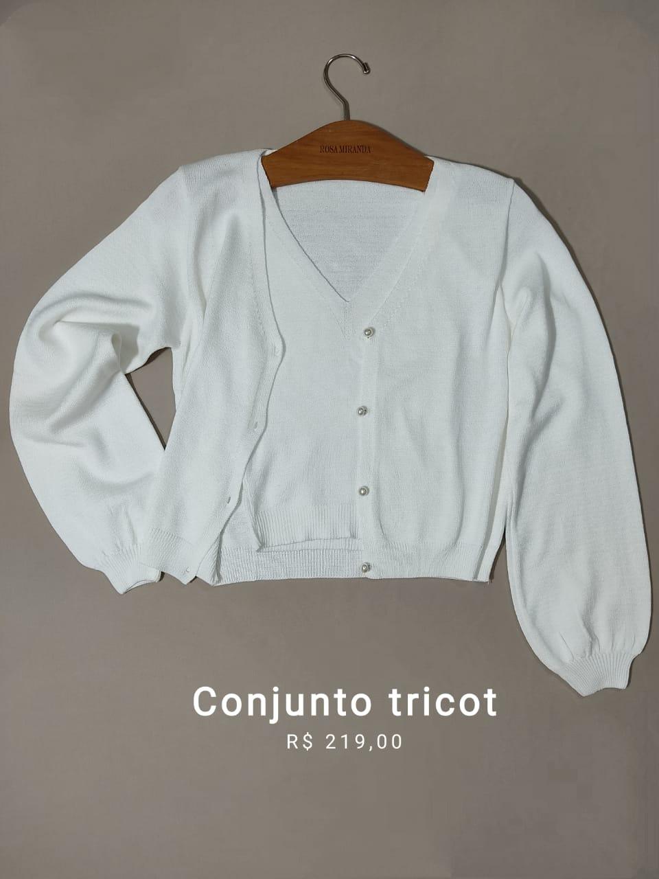 Conjunto Twin set Tricot Lugano