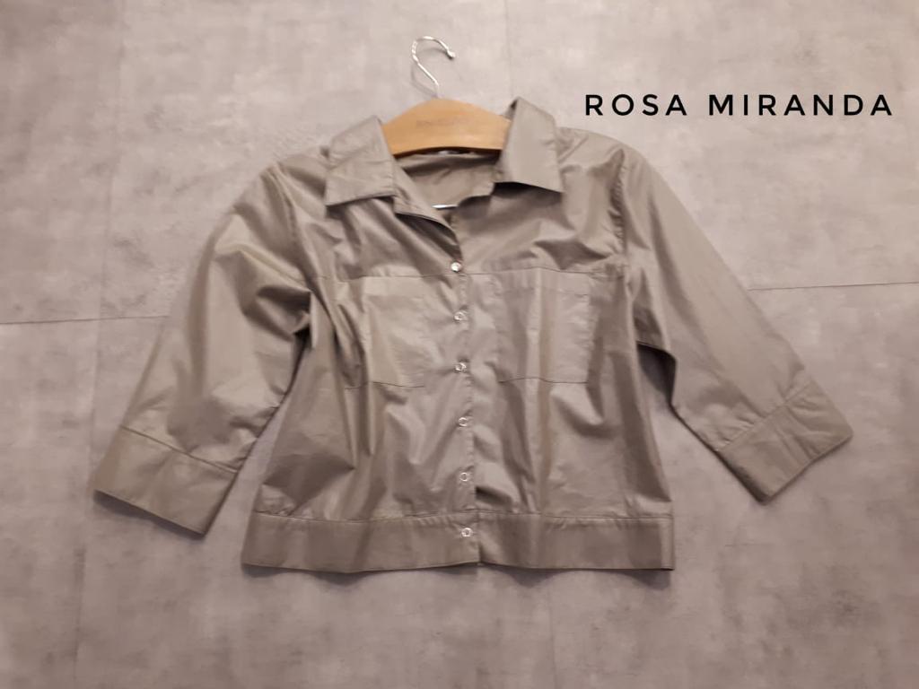 Jaquetinha estilosa tecido algodão com brilho