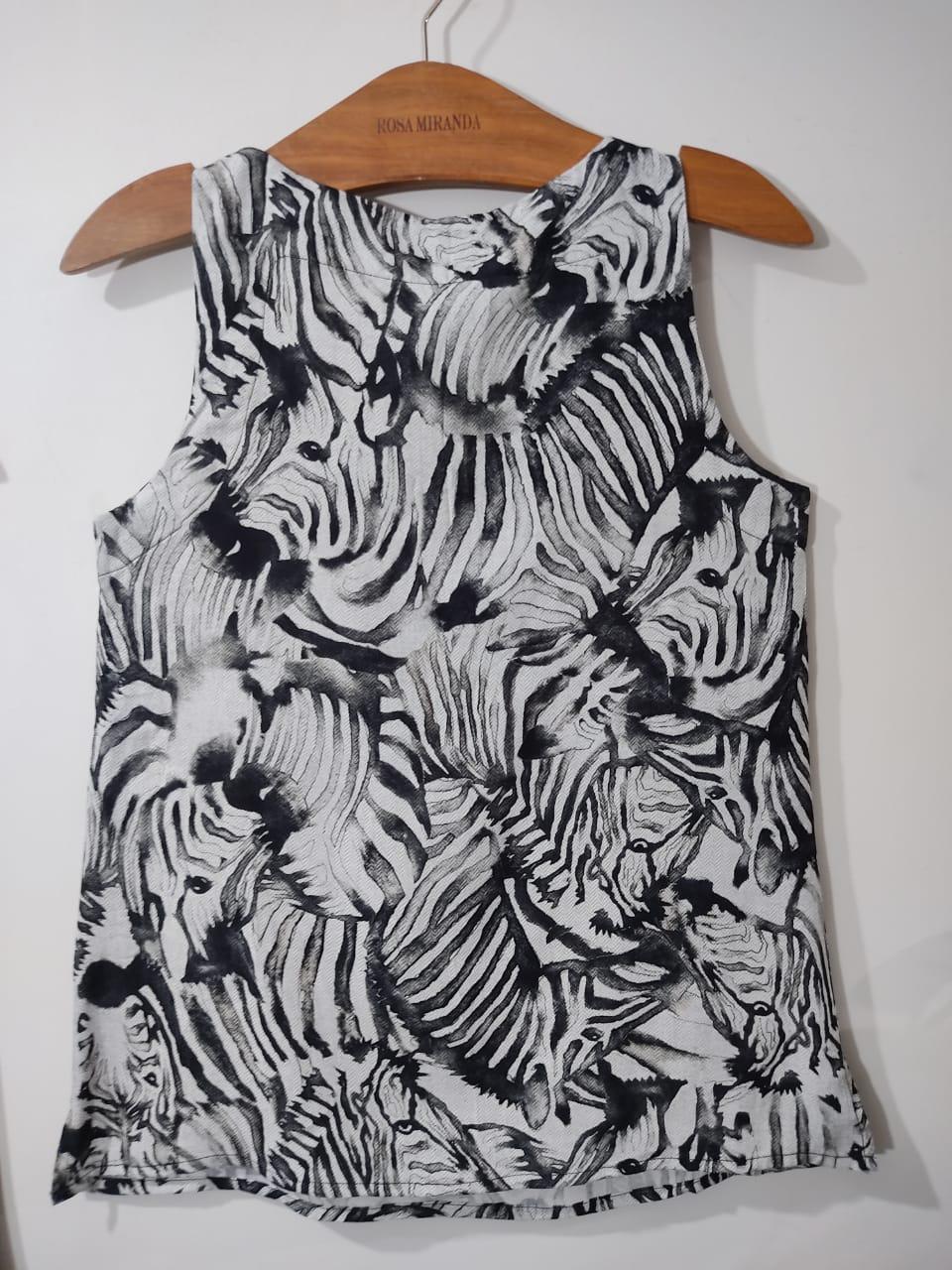Regata viscose zebra