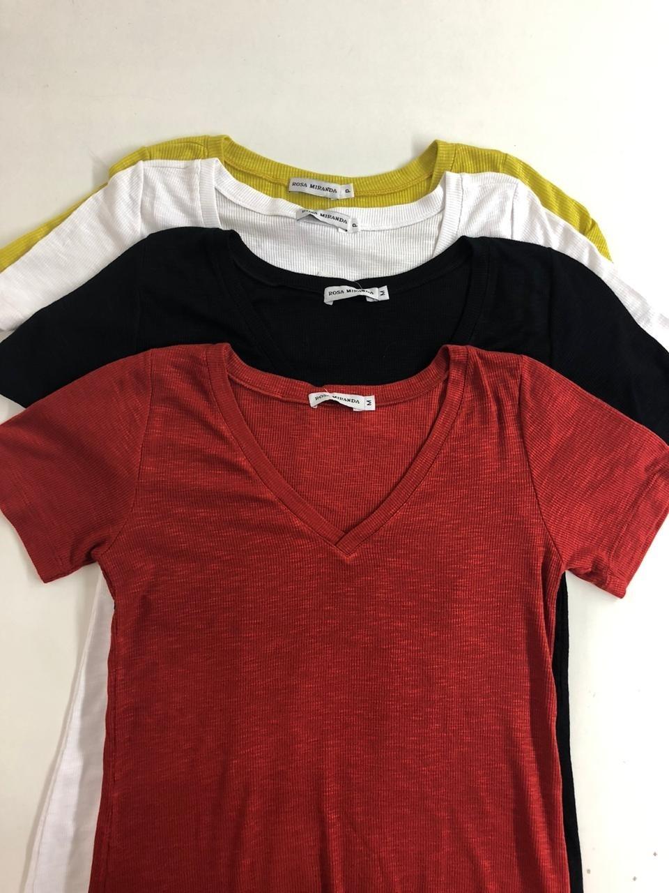 T- Shirt decote v