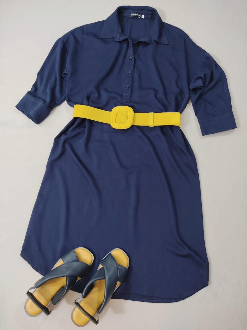 Vestido Chemise Veneza