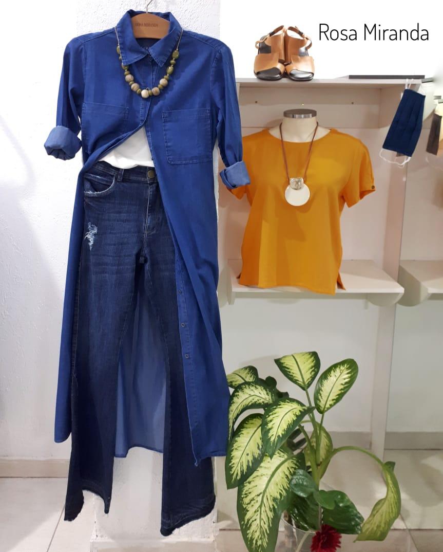 Vestido Jeans Midi