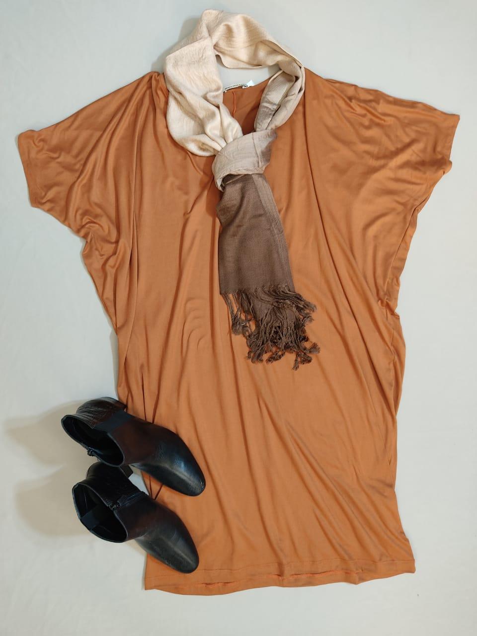 Vestido suede Bari