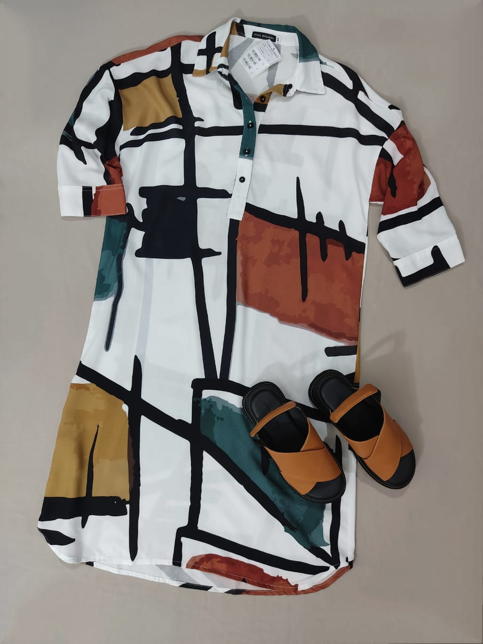Vestido Visco Lucca