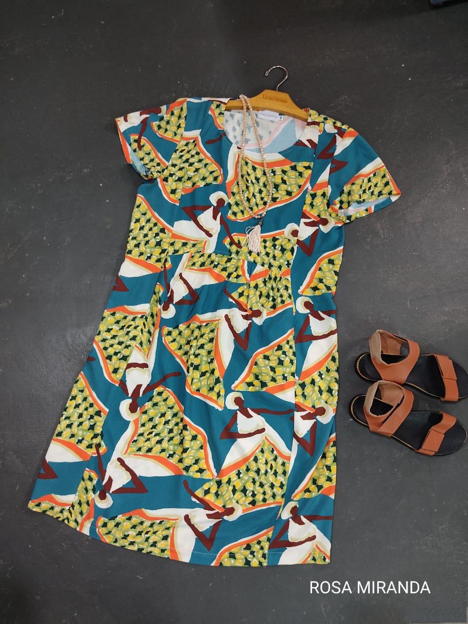 Vestido Viscose Baiana