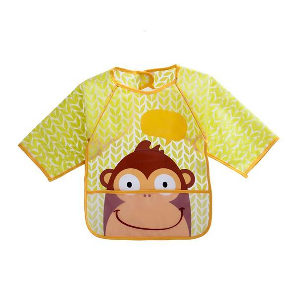 Babador Com Manga Macaco  - MultiKids