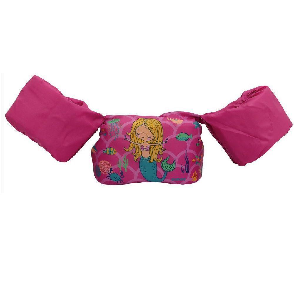 Boia de Vestir Infantil Sereia Rosa - Kababy