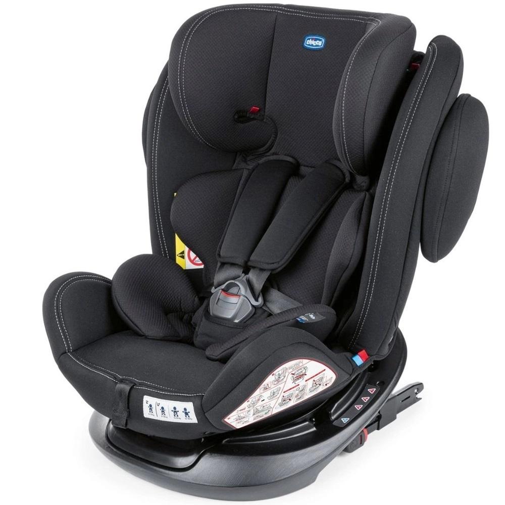 Cadeira Auto Único Plus 360° com Isofix Black Chicco