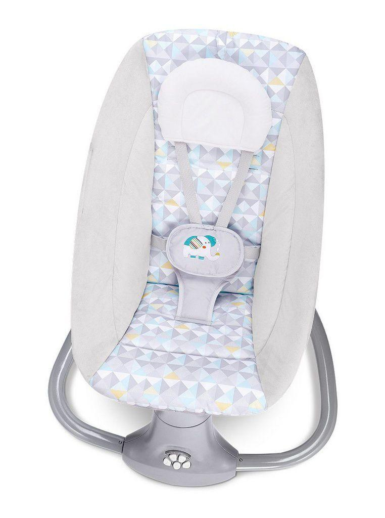 Cadeira de Balanço Automática com Bluetooth Techno Light - Mastela