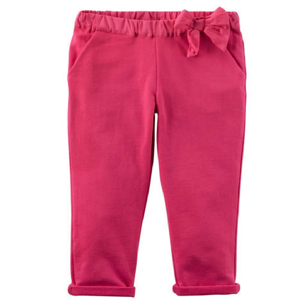 Calça De Moleton Rosa Pink Carter´s -Tamanho 18 Meses