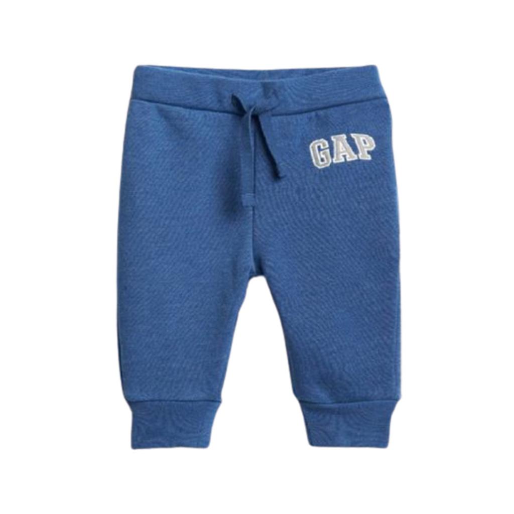 Calça Gap Moletom Infantil azul - 12-18M