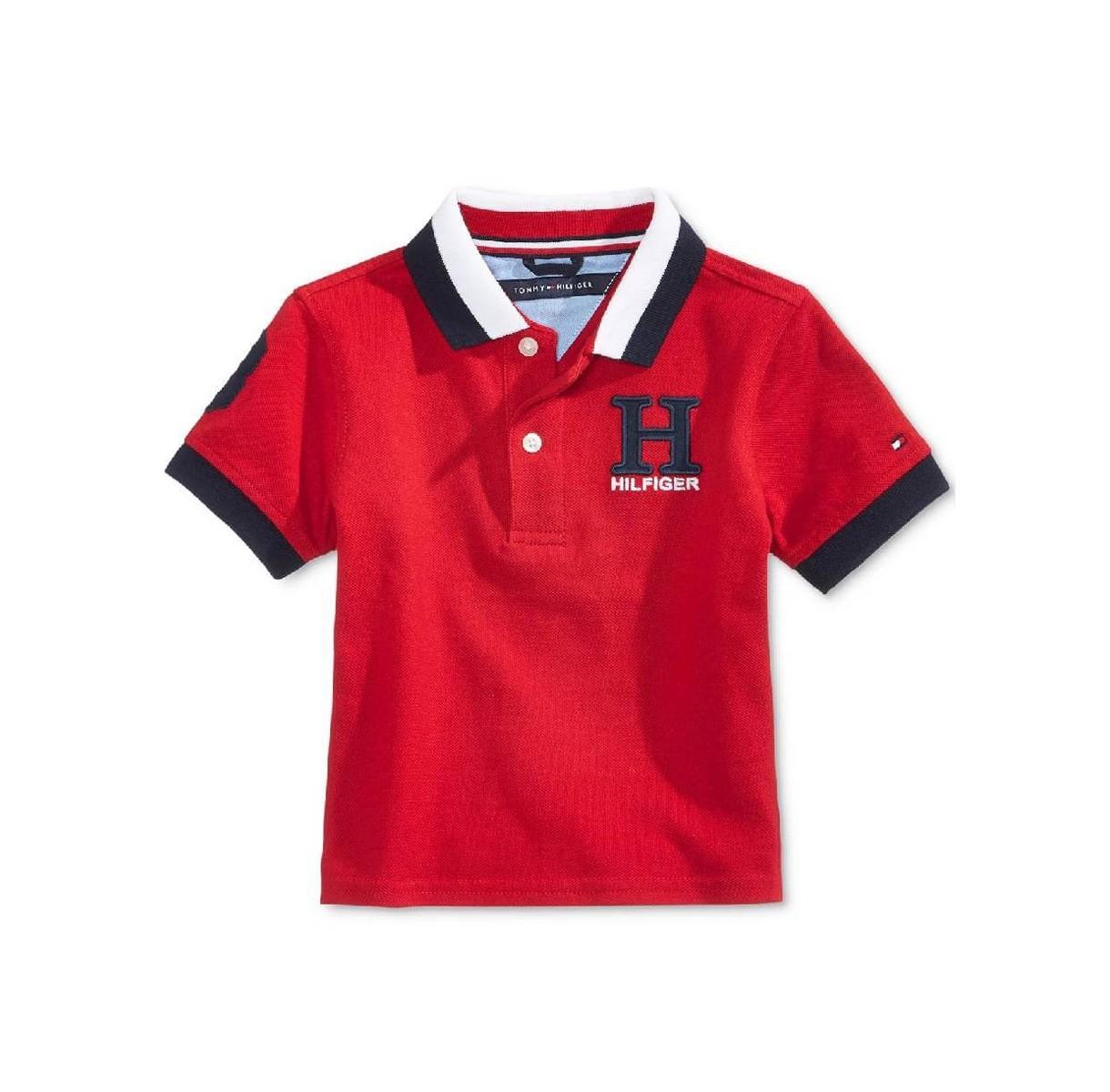Camiseta Gola Polo Tommy Hilfiger - Tamanho 18 Meses