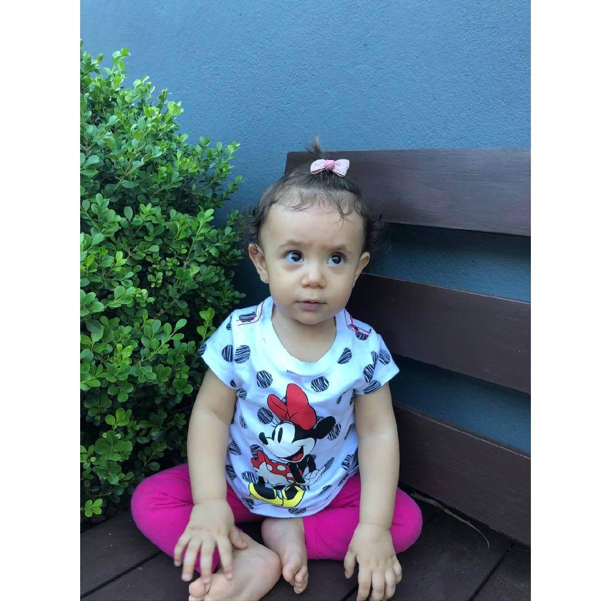 Camiseta Minnie Disney - Tamanho 18 A 24 Meses