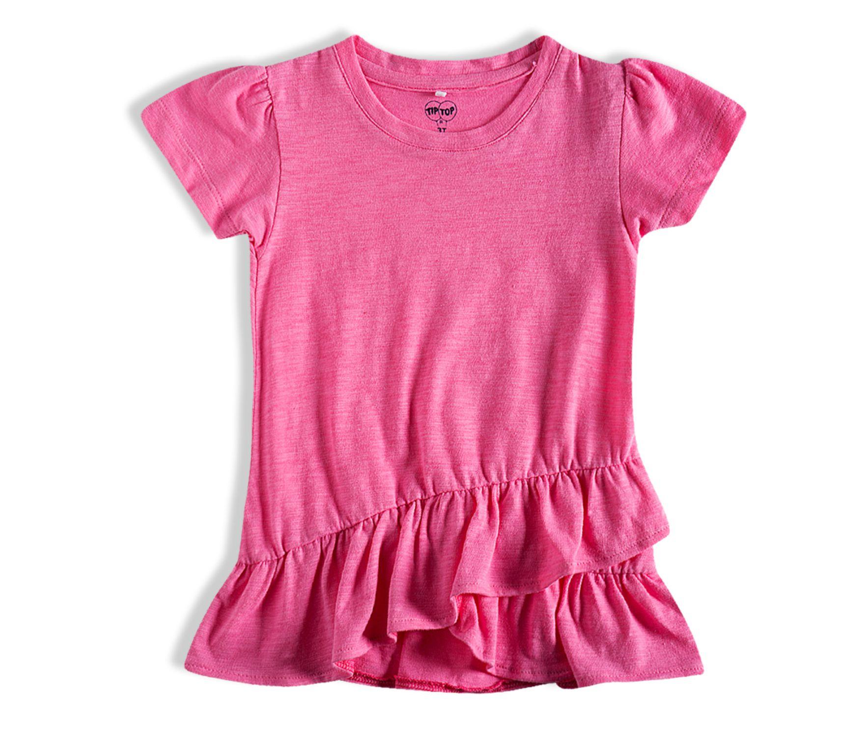 Camiseta Rosa Be Happy /Tam:1t/TipTop