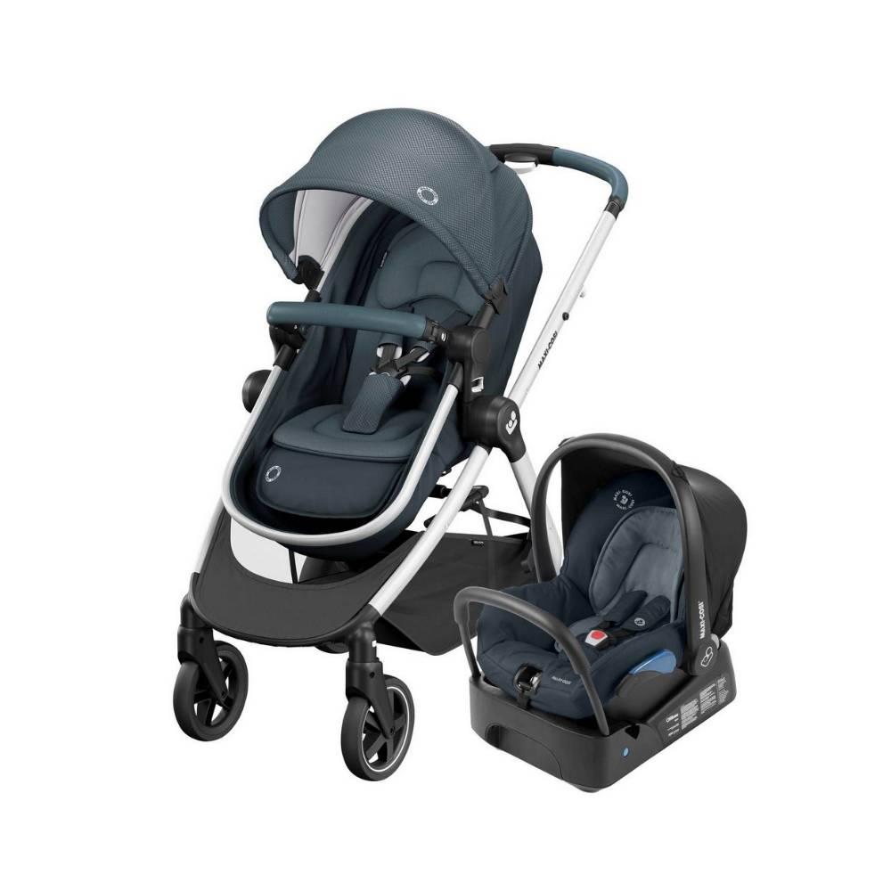 Carrinho de Bebê Travel System Anna 2 Graphite - Maxi-Cosi