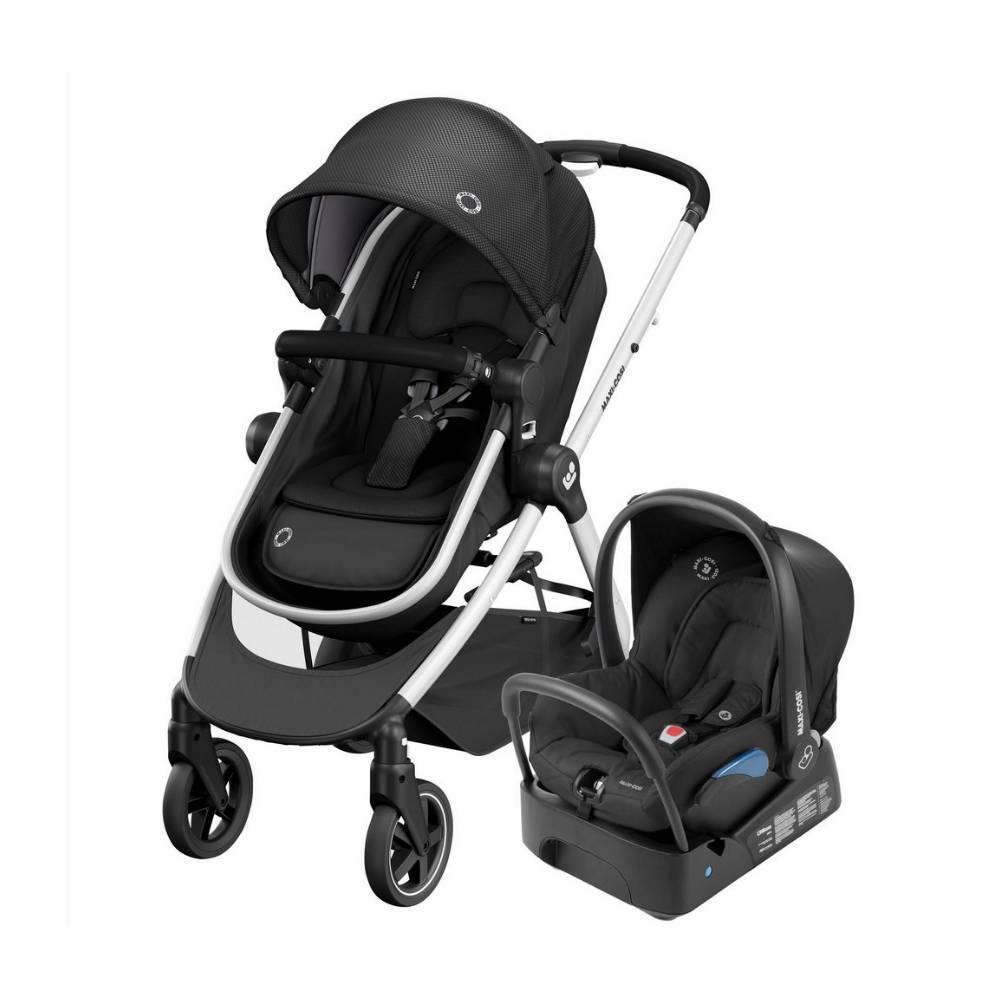 Carrinho de Bebê Travel System Anna 2 Trio Preto - Maxi-Cosi