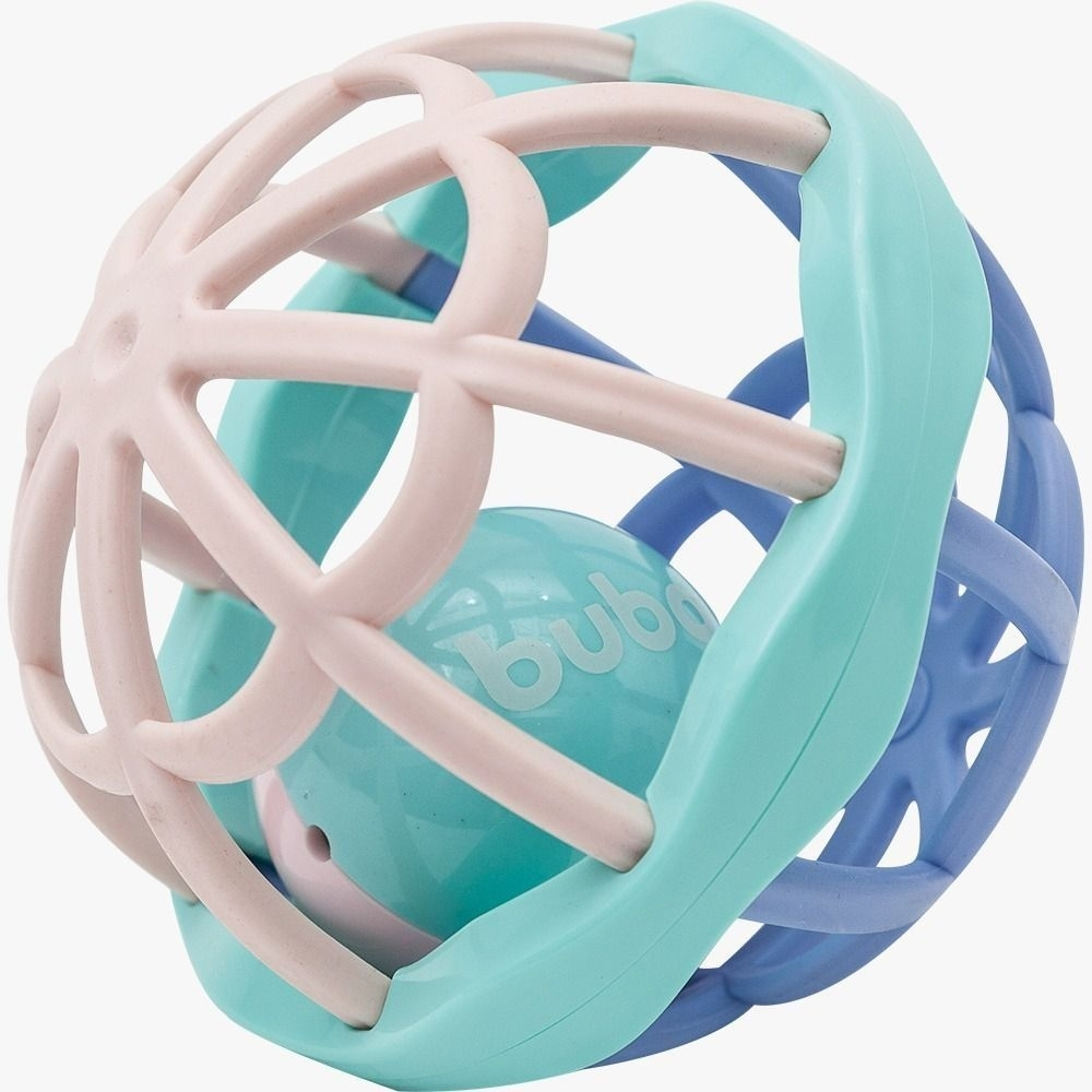 Chocalho Baby Ball Cute Colors Buba