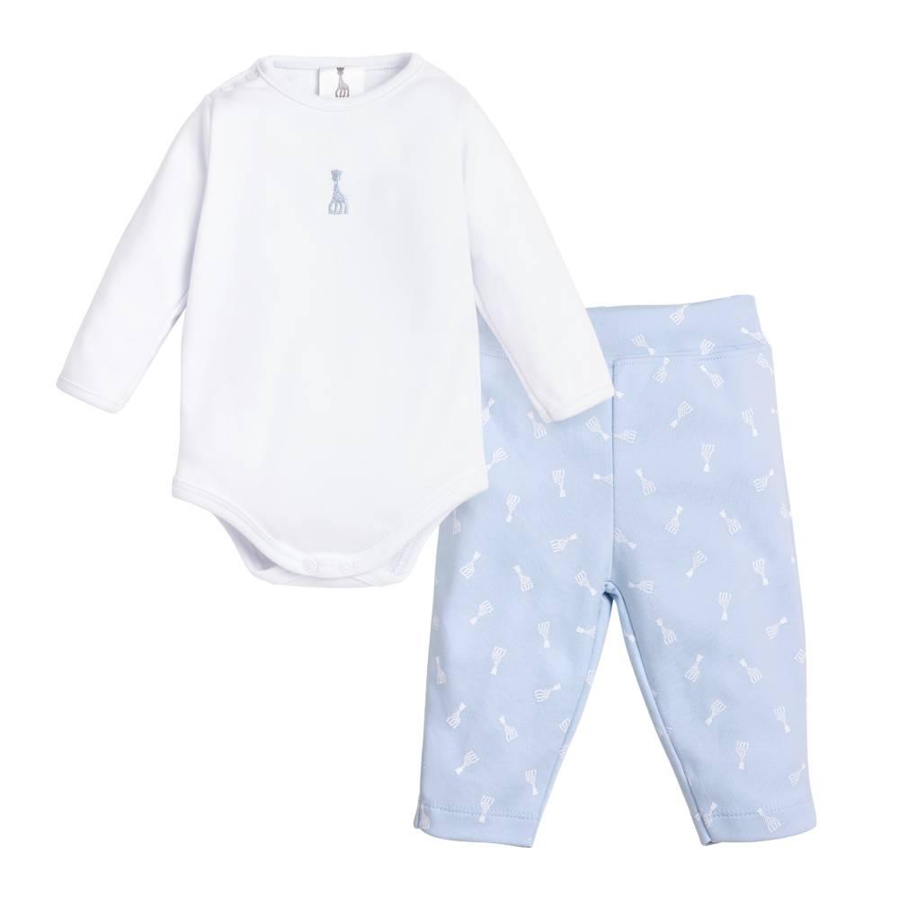 Conjunto body+calça sophie la girafe Azul - M