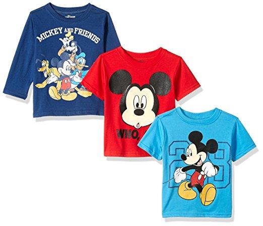 Kit Camiseta 3 Peças Disney - Tamanho 4t