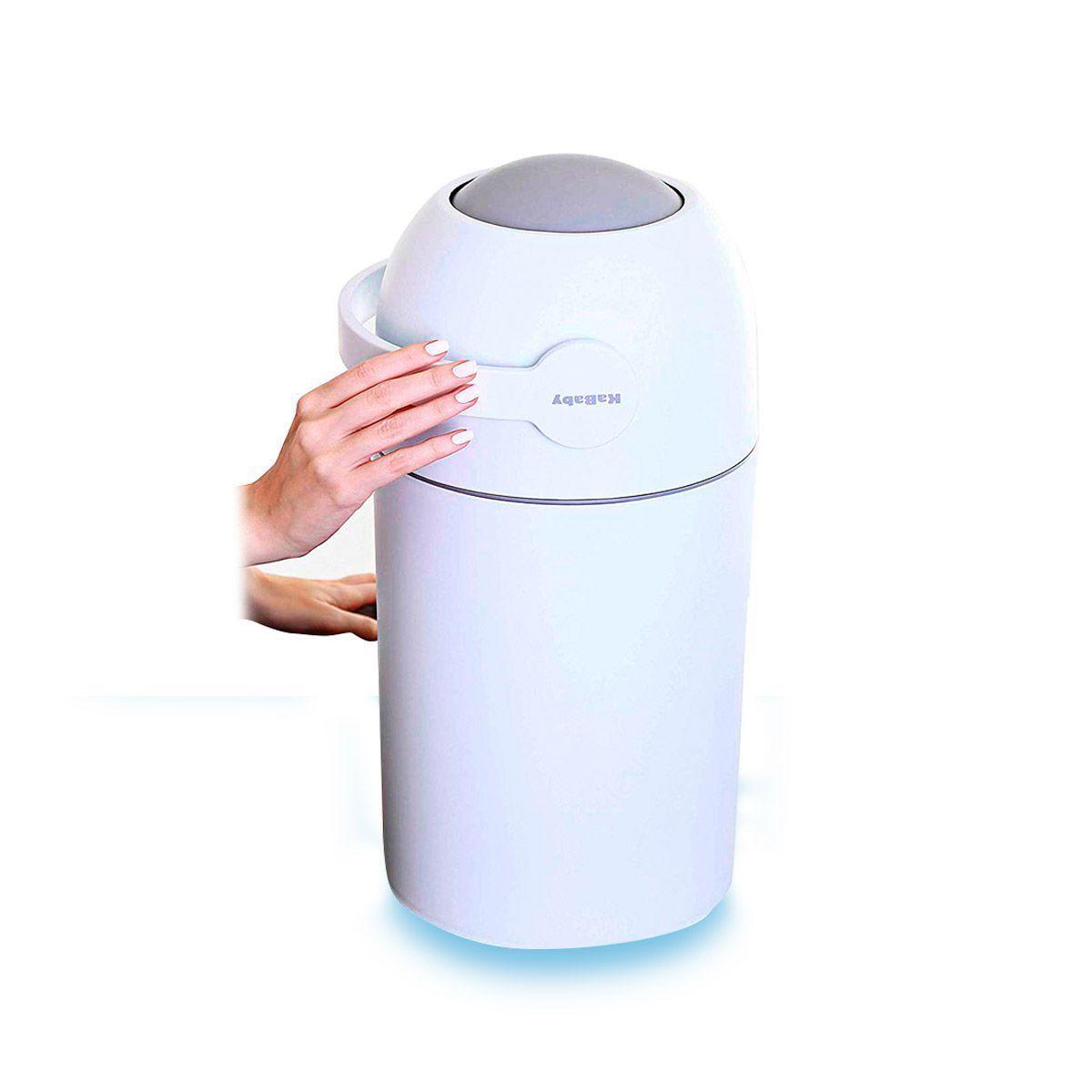 Lixo Mágico Anti-Odor Branco - Kababy