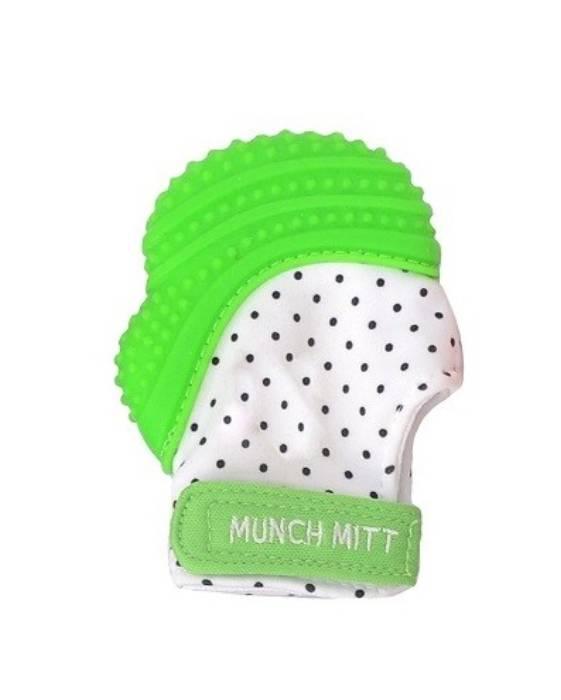 Luva Mordedor Munch Mitt Verde 0-12m