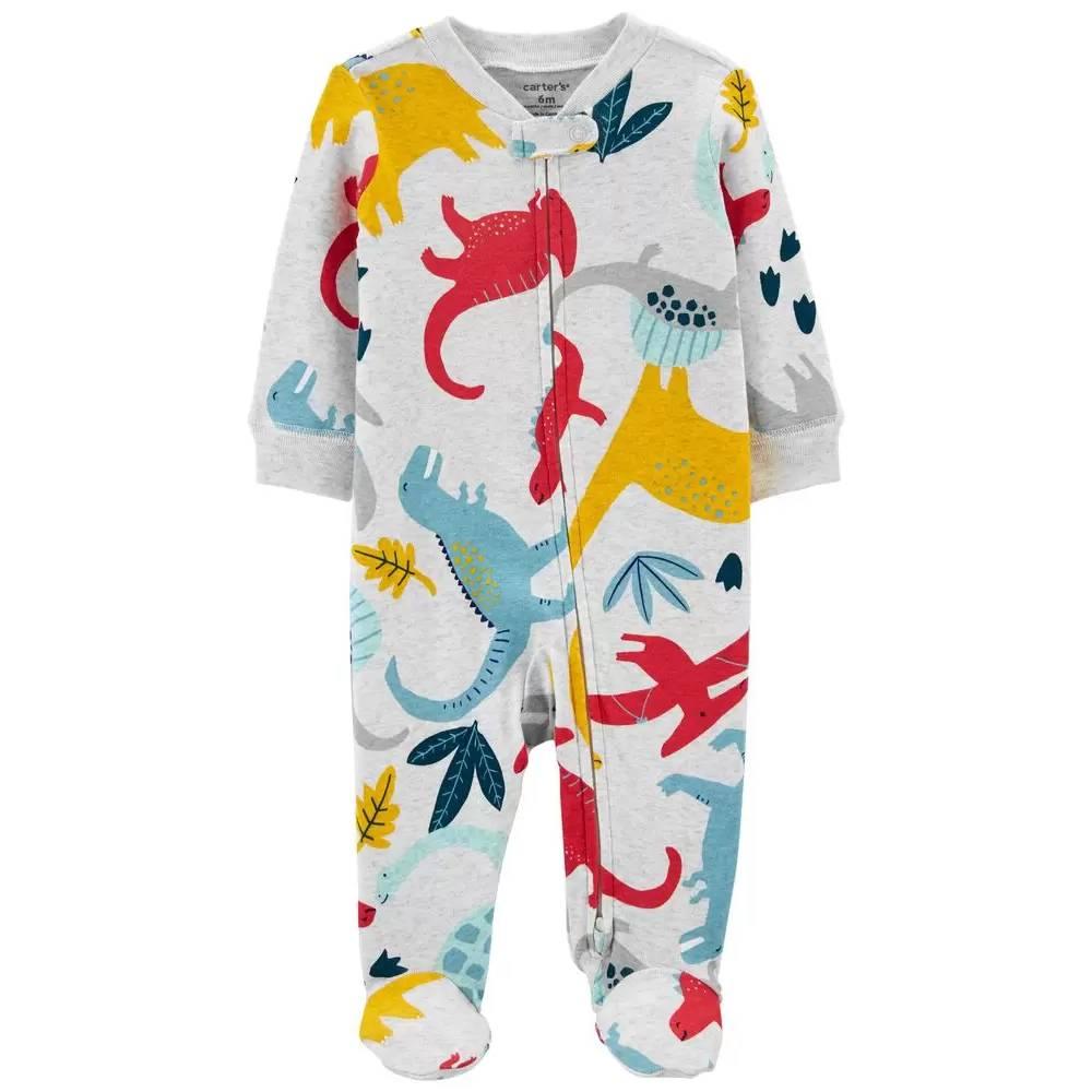 Macacão Dinossauro Colorido Para Menino Carters/Tam:3M
