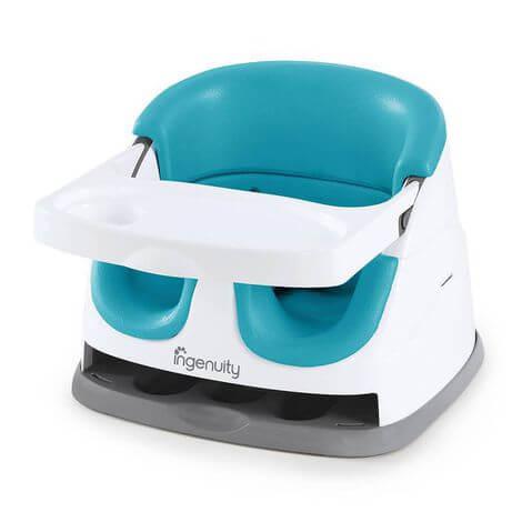 Cadeira de Alimentação Baby Base 2-in-1 Blue-Ingenuity