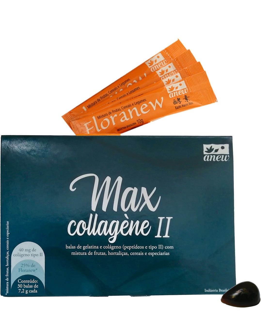 Max Collagène Ii + Floranew (4 Amostras Grátis)