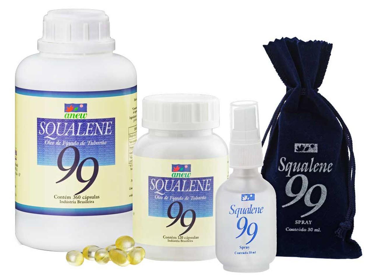 Squalene 99 + Floranew (4 Amostras Grátis)