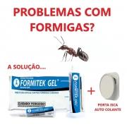 Formitek Gel 10g Repelente Para Formiga + Porta Isca
