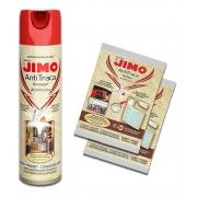 Kit 1 Anti Traça Jimo 300ml + 2 Cartelas Anti Traça Jimo