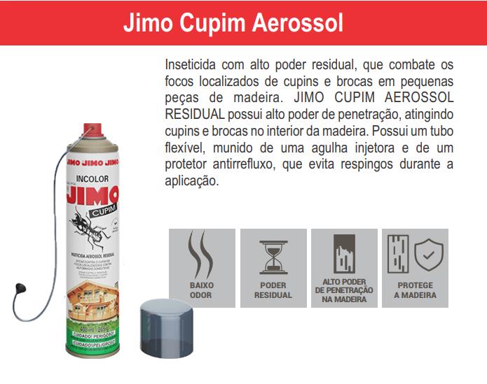 Cupim Aerosol 400ml - Com Agulha Aplicadora  - Ul Brasil