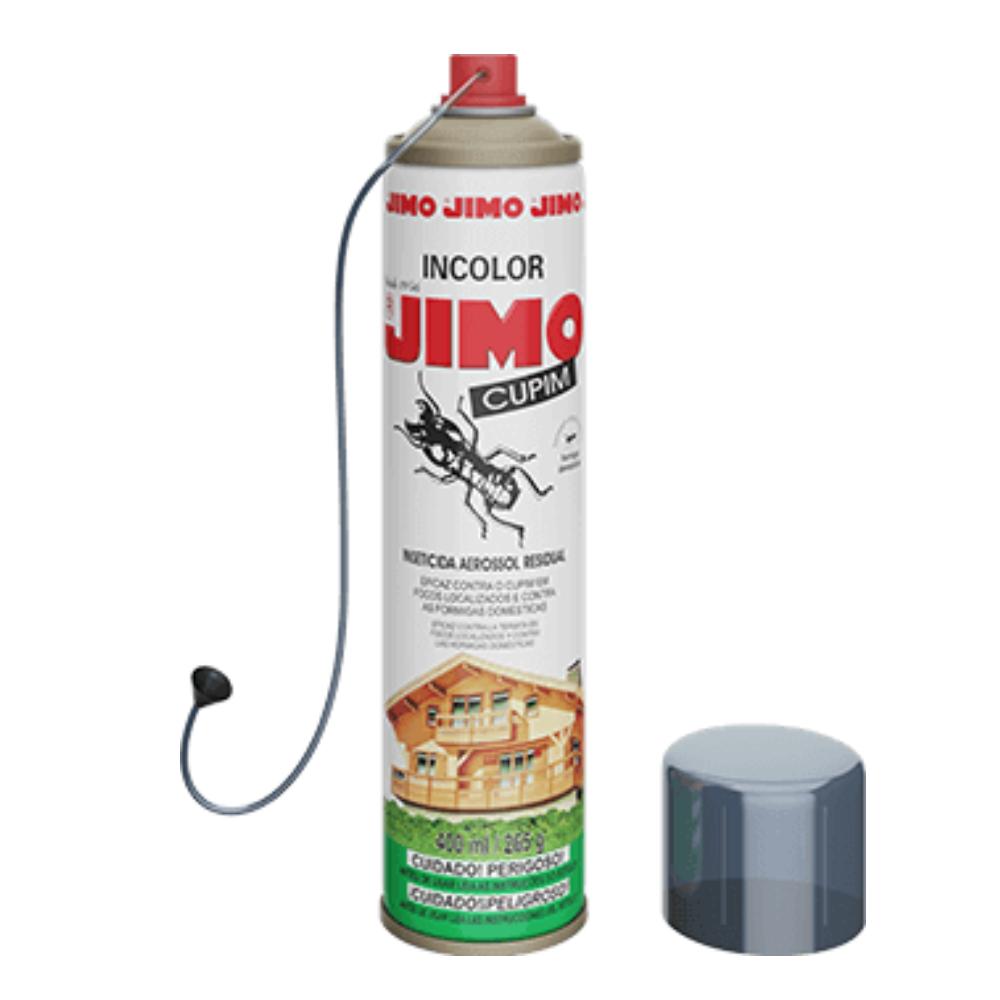 Dedetizador Jimo Anti Cupim Spray Incolor 400ml  - Ul Brasil