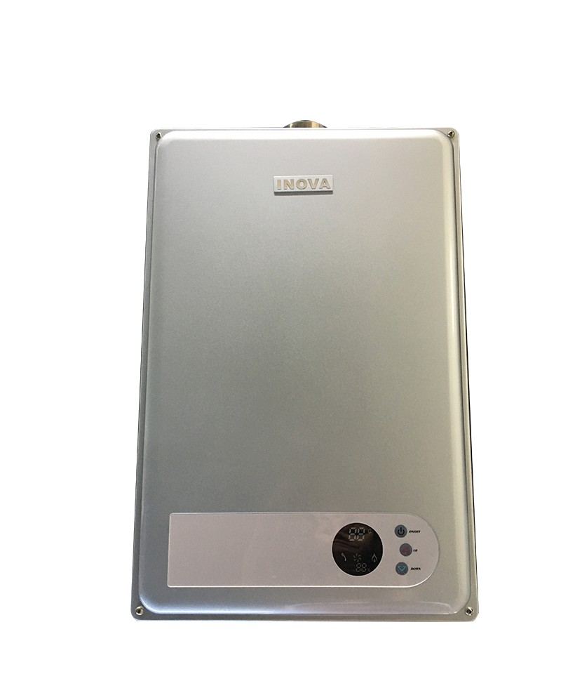 Aquecedor a Gás IN-350D Silver Inova - 33,5 litros