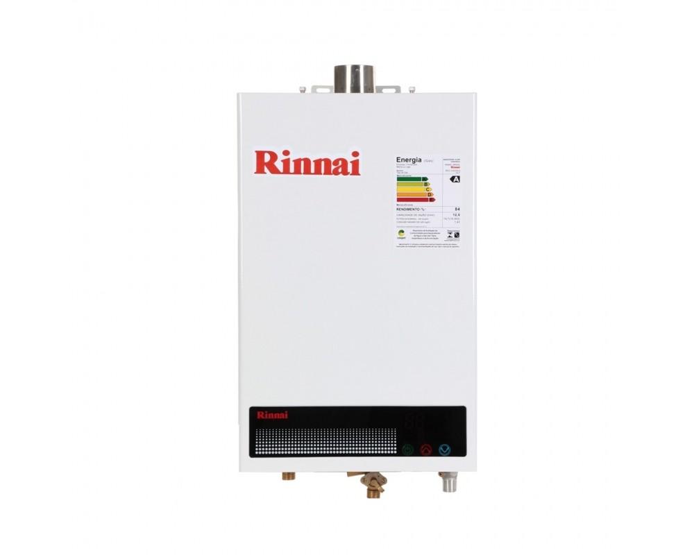 Aquecedor a Gás REU-1002 FEH GN Rinnai - 12 litros