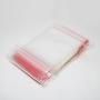 Saco Plástico Zip Lock 24 x 34 cm | Pacotes com 100 unid.