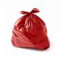Sacos de Lixo VERMELHO 40 Litros | 100 UNID.