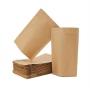 Stand Up Pouch - Kraft - Com Fecho Zip - 10 x 15 + 5 cm - 100 unid.