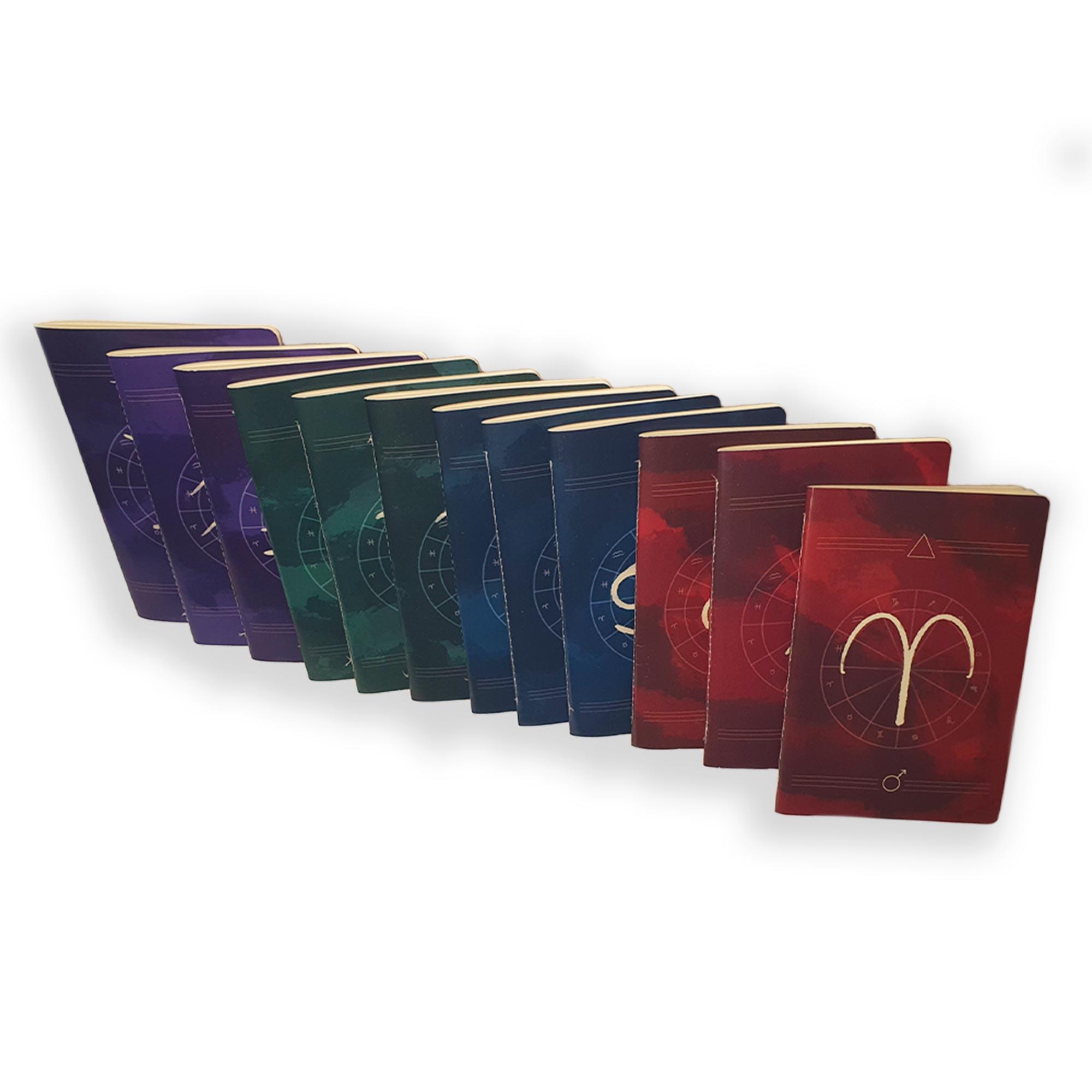 Caderno Zodíaco Aquário