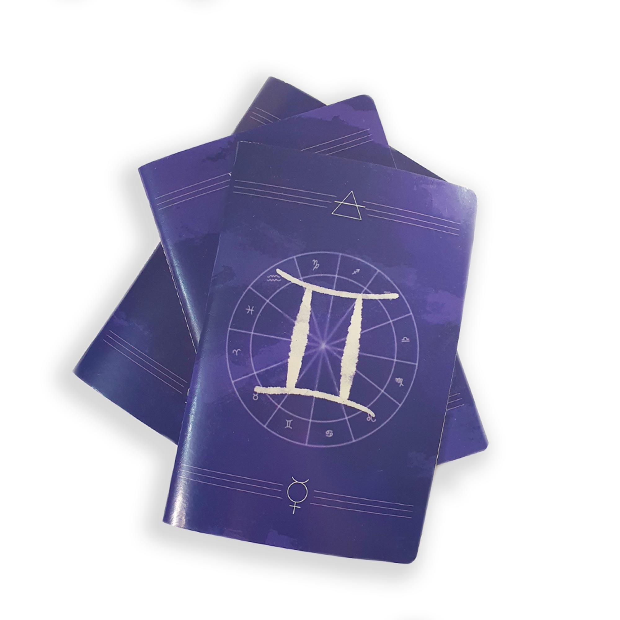 Caderno Zodíaco Gêmeos