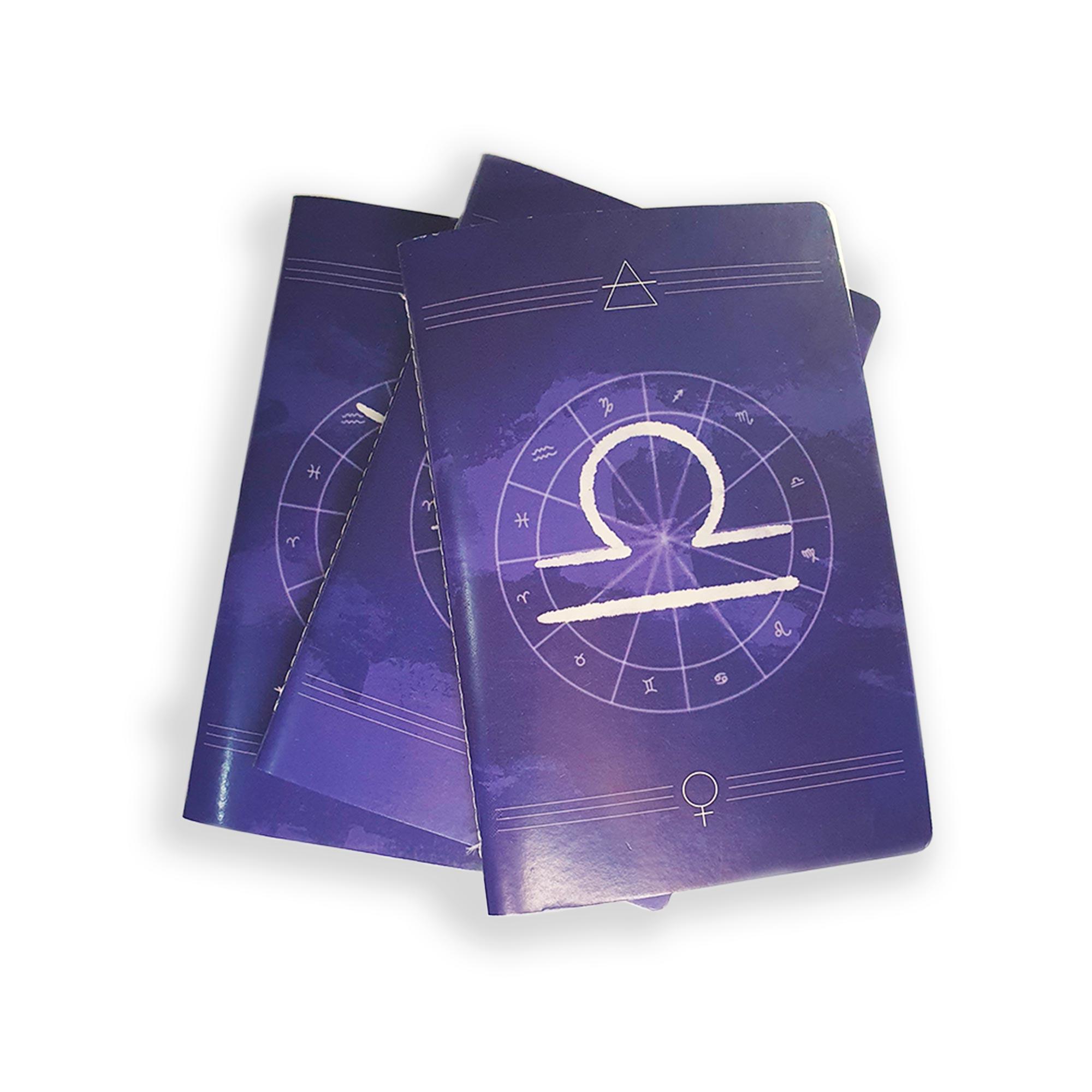 Caderno Zodíaco Libra