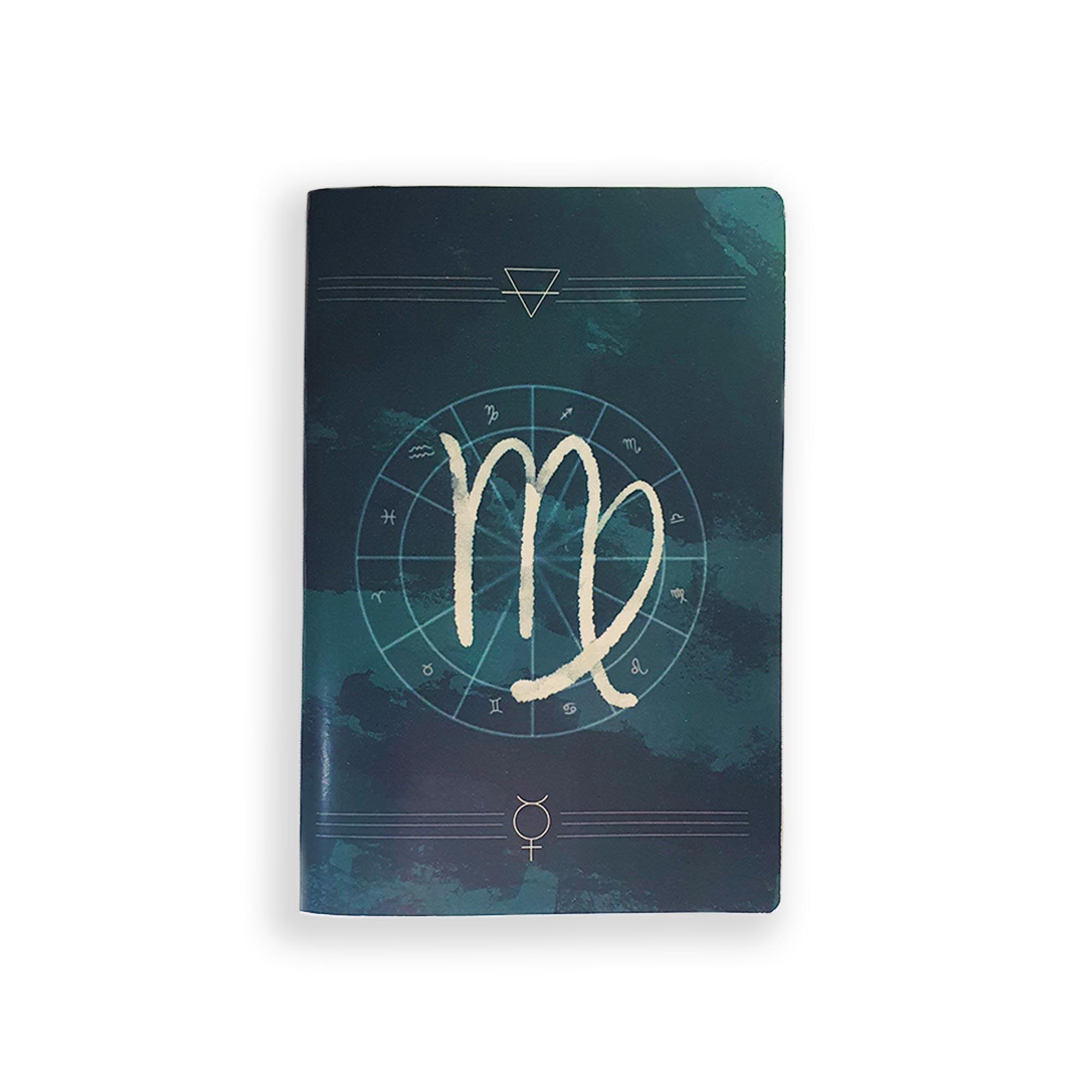 Caderno Zodíaco Virgem