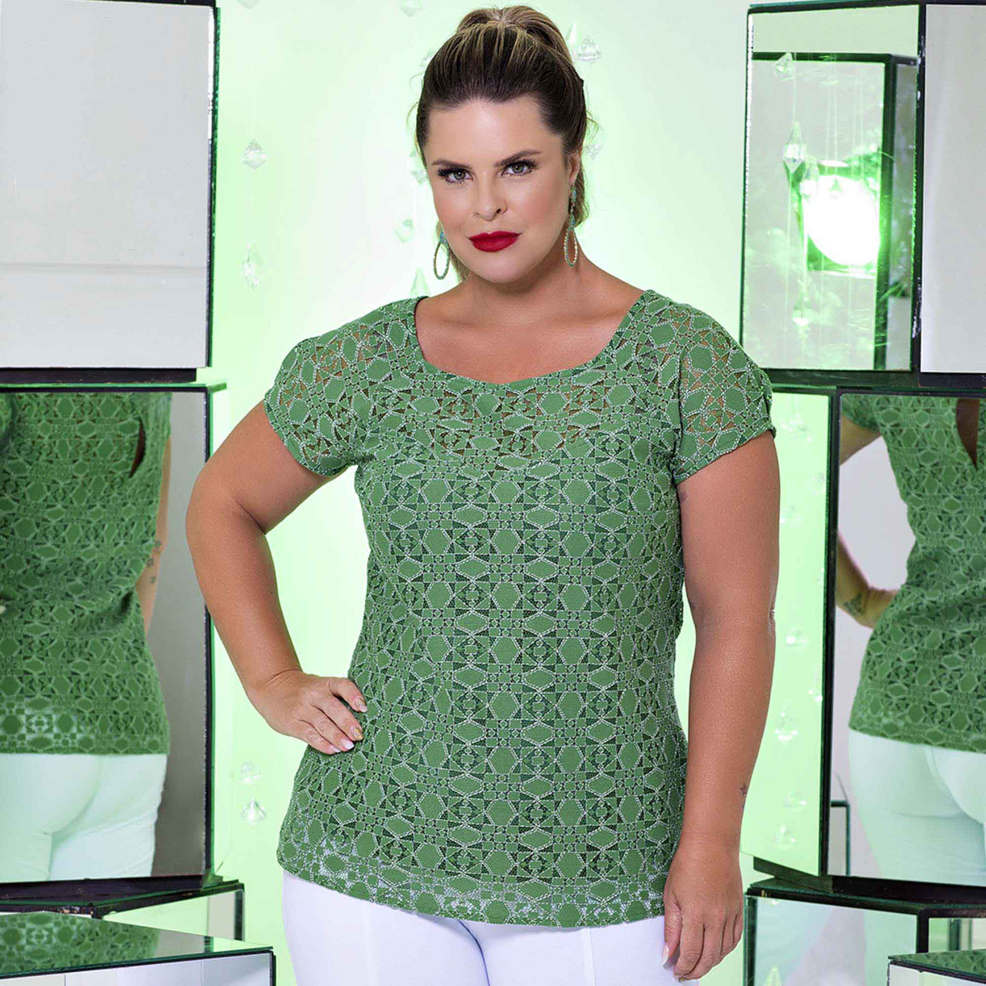 Blusa Green Gift