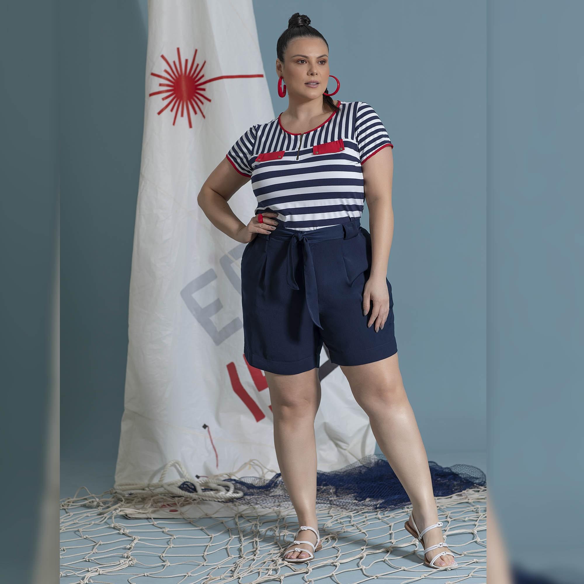 Blusa Sailor