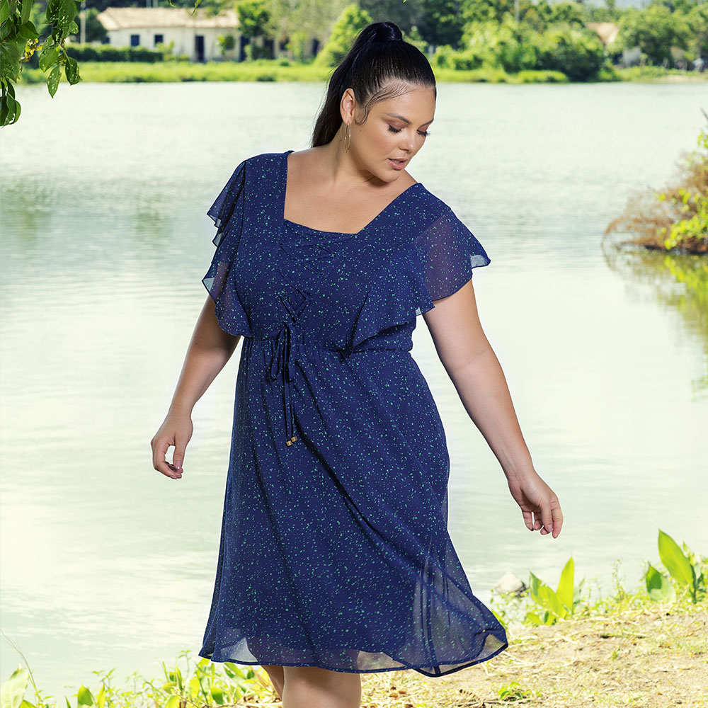 Vestido Arara Azul