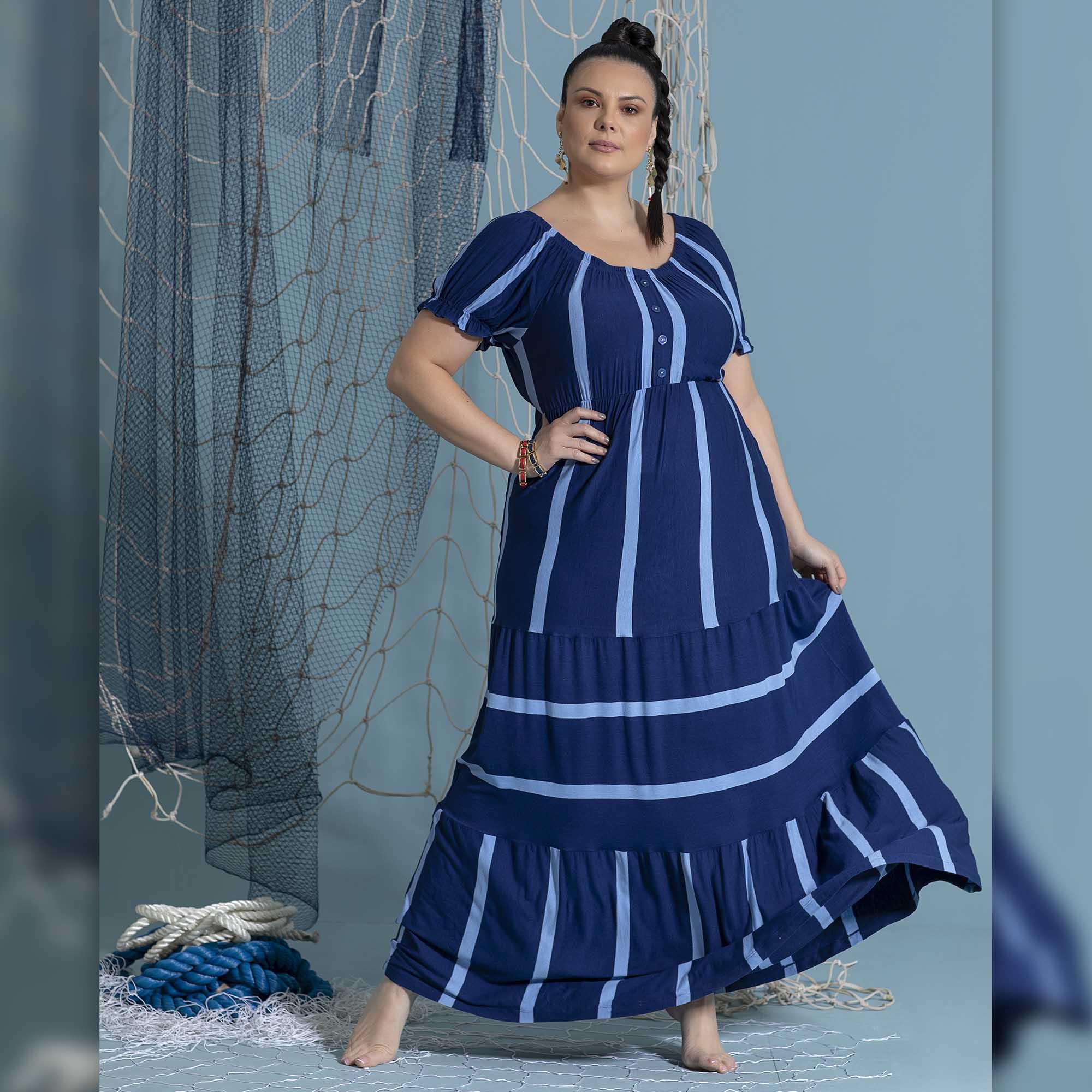 Vestido Escotilha