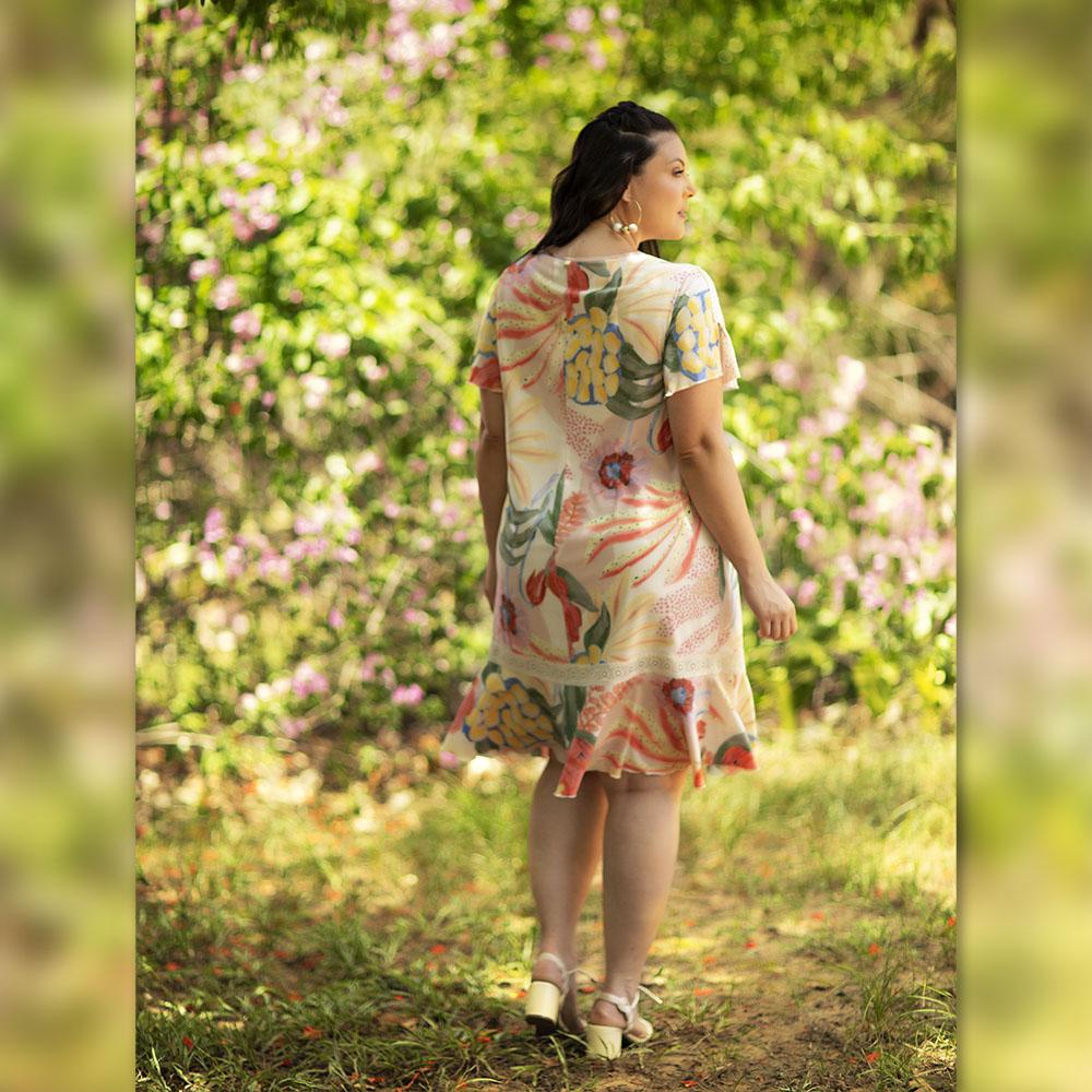 Vestido Flor do Sertão