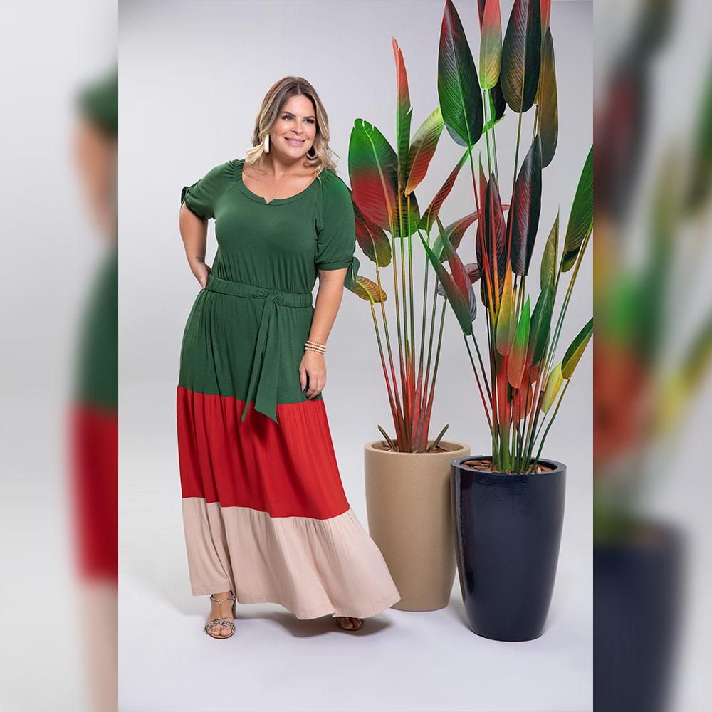 Vestido Hortelã